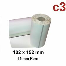 102x152mm thermoetiketten cebra qln420, ql420 Plus, p4tn rp4t/3003074