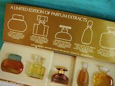 "Estee Lauder 5 Parfum Miniaturen  ""Parfum Extracts""   OVP Sammleredition"