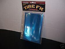 Tire Turbo Foil Graphic Car Truck Blue New Auto IM64