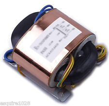 230V 80W 12V X2 OUTPUT R CORE TRANSFORMER With SHIELDING FOR AUDIO
