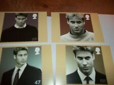 HRH Prince William of Wales 17 June 2003 PHQ 254 set Royal Mail Stamp Card