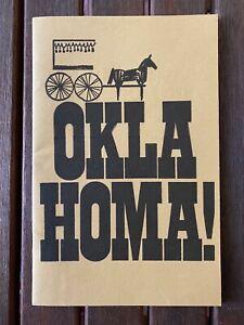 "Katie Sagal ""Oklahoma!"" Souvenir Program 1969 St. Matthews Church"