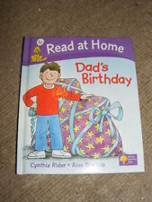Dad's Birthday by Cynthia Rider & Alex Brychta HB book Read At Home Level 1c