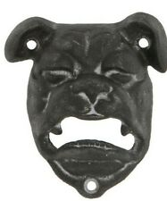 Bulldog Metal Wall Mounted Bottle Opener