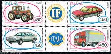 ITALIA BLOCCO AUTOMOBILISTICHE ITALIANE AUTO VEICOLI 1984 nuovo**