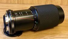 VIVITAR Auto Zoom F1:4.5, 80–200 mm, lente ø55mm NO.22940296 PENTAX KA Montaje