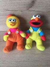 VINTAGE Sesame Street Big Bird And Elmo TYCO Asilo Toys