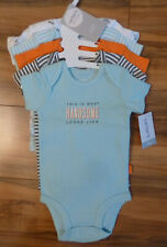 Carters 5 Pack Bodysuits for Boys 3 Mos. NWT
