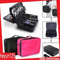 Large Makeup Bag Cosmetic Case Storage Handle Organizer Travel Kit Professional