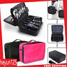 Large Makeup Bag Cosmetic Case Storage Handle Organizer Travel Kit Professional