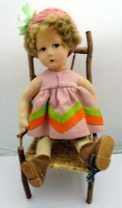 "13"" Alma Felt Doll, Doll in Mint Condtion"