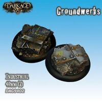 Dark Age: Groundwerks Base Inserts - 40mm Industrial (2) - DAG9402