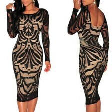 Fashion Women Elegant Backless Lace Designed Women Pencil Skirt CocktailDress S&