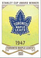 2003-04 Topps C55 Stanley Cup Winners #21 Toronto Maple Leafs - NM-MT