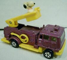 Aviva Peanuts Snoopy Fire Ladder Truck #C1