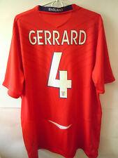 Gerrard ! 2008-10 England Away Shirt Jersey Xl
