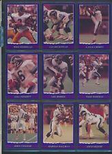 1989 JOGO Purple VariantCFL Football Cards #1-54Very Rare MINTU-PickHam Allen
