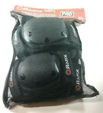 NEW Razor Black Multi Sport Elbow Knee Pads  Youth Ages 5+