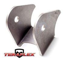 TeraFlex TJ Front Axle Bracket Lower FlexArm Mount - Driver 97-06 Jeep Wrangler