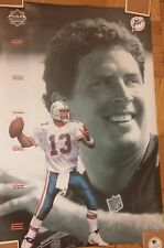 "Vintage Poster Dan Marino ~ 1995 Power Portrait / Dolphins (24 x 36"")"