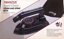 Franzus Travel Classics Steam and Spray Iron 120V/240V Dual Voltage
