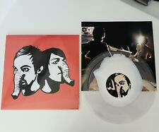DEATH FROM ABOVE 1979 Heads Up LP the strokes.rapture.justice WHITE CLEAR VINYL