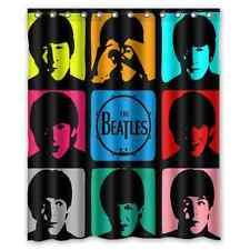 Brand New The Beatles Waterproof Bathroom Shower Curtain 60 x 72 Inch