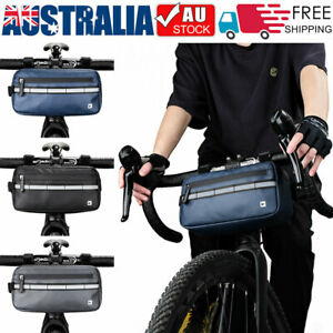 Cycling Bag Bicycle Bike Handlebar Bag Front Frame Tube Waterproof Front Basket