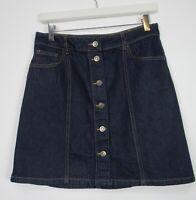 Marks & Spencer Holly Willoughby Denim Mini Skirt Size 8 - 22