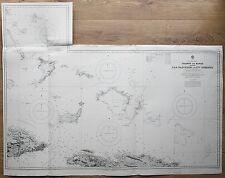 1829-32 West India islas San Salvador a Santo Domingo Mapa del Almirantazgo Gráfico