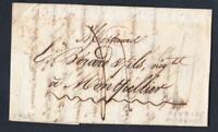 MARQUE POSTAL 1832 Cursive 10 PEYRIAC le MINERVOIS + Boite rurale B identifiée