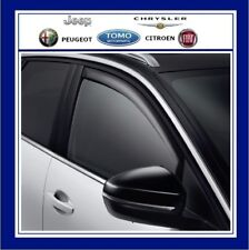 NEW GENUINE PEUGEOT 3008 SUV SET OF 2 WIND/AIR DEFECTORS FRONT DOORS 1616443380