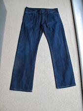 Prada Straight Leg Dark Blue Jeans  Size 31 Regular Fit UK 10 / 12