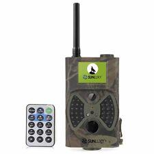 SUNLUXY Caméra de Surveillance Chasse Vidéo Avec MMS  Camouflage