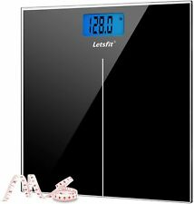 "Letsfit Digital Body Weight Scale,Included Body Tape Measure ""Free Shipping"""