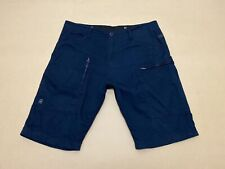 """G Star Raw Shorts Mens ~ Size 35 ~ Great Cond """" Powel Loose 1/2 """" Cargo Pockets"""