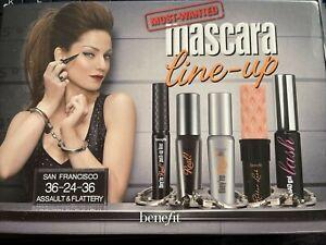 NIB Benefit Cosmetics Mascara Most Wanted Mascaras Set. 5 PIECE SET