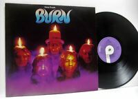 DEEP PURPLE burn (2nd uk issue) LP EX/VG, TPS 3505, vinyl album, 1974, hard rock