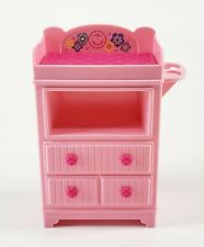 Mattel 2013 Barbie Baby Diaper Changing Table Toy Doll Crib Nursery Furniture