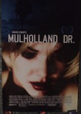 David Lynch MULHOLLAND DRIVE one-sheet A Movie Poster Laura Elena Harring 27x40