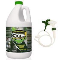 GONE! Powerful Mold Mildew and Algae Eliminator | No Scrub | Instant | Effective