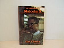 THE POLITICAL LEGACY OF MALCOLM X OBA T'SHAKA BOOK SIGNED AUTOGRAPHED