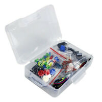Electronic Component Starter Kit Capacitor Breadboard LED -Buzzer Resistor Set