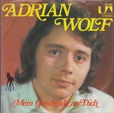 """7"""" Adrian Wolf Sing das Lied der Liebe (Coverversion) 70`s United Artists"""