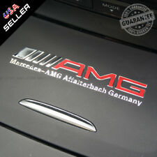 Car For AMG Interior Emblem Aluminum Decal Sticker Badge Decoration Logo Gift