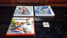 NINTENDO 3DS GAME BUNDLE - Hyrule Warriors Legends, Pokemon Alpha Sapphire, Ma..