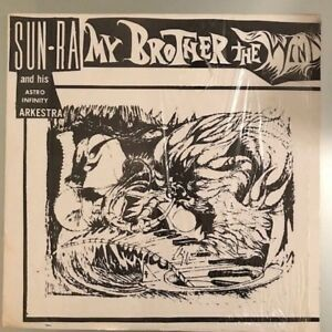 """Sun Ra And His Astro Infinity Arkestra """"My Brother The Wind"""" US 1970 EXCELLENT !"""