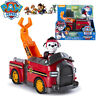 PAW PATROL VEHICLES MARSHALL'S MISSION FIRE TRUCK PUP DOG ACTION FIGURE KID TOY