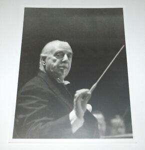 Great British Conductor SIR THOMAS BEECHAM  Orig. PHOTO SIGNED by EMMERICH GARA
