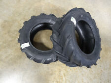 TWO New 23X8.50-12 BKT TR-315 Tractor Lug Tires 6 ply with free stems